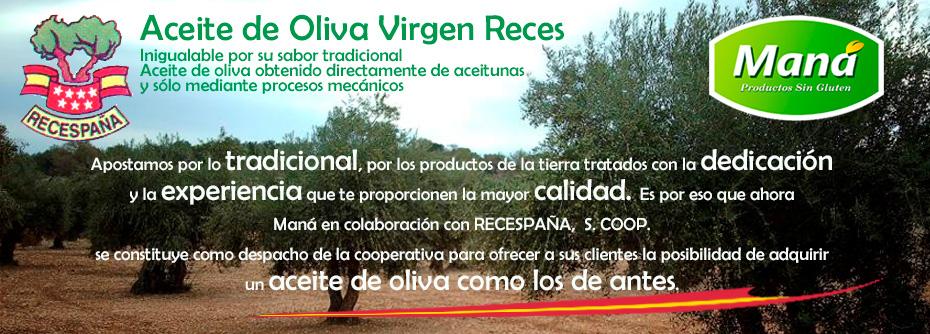 Aceite de Oliva Virgen Reces