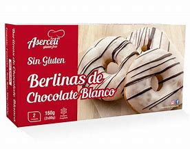 Berlinas Chocolate Blanco Aserceli