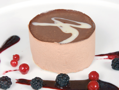 Mousse choco-leche s/az Trysa (Pack 2)