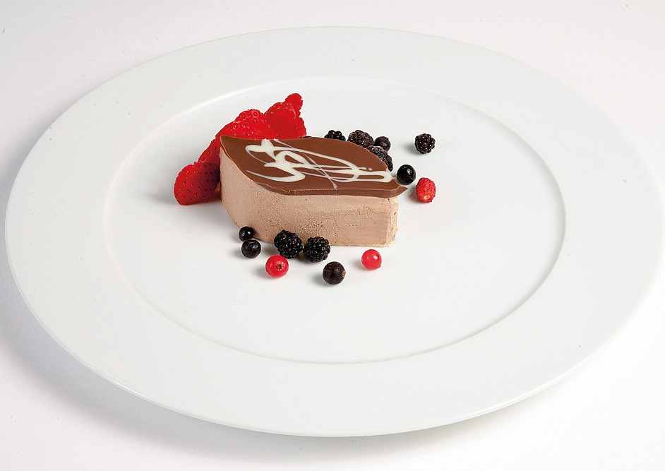 Mousse de chocolate fresa s/az Trysa (pack 2)