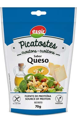 Picatostes Queso 70 gr