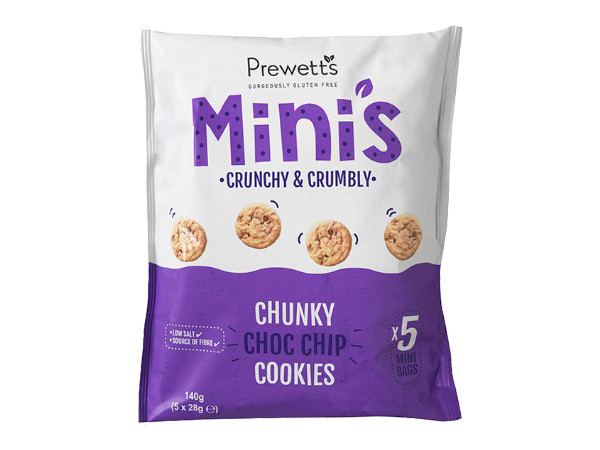 Mini cookies choco chips Prewett´s